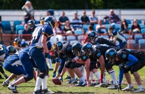 The Zagreb Thunder facing off against the Osijek Cannons in Croatia (Photo courtesy of Tibor God).