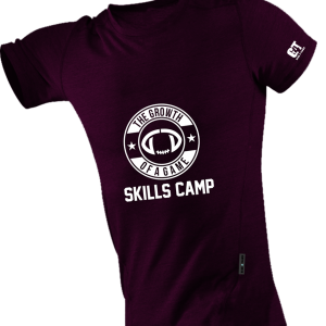 Camp Shirt Maroon - Front