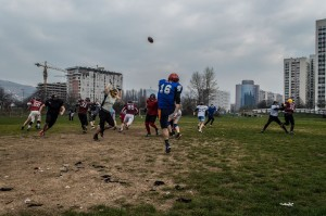 American Football in Bosnia 1