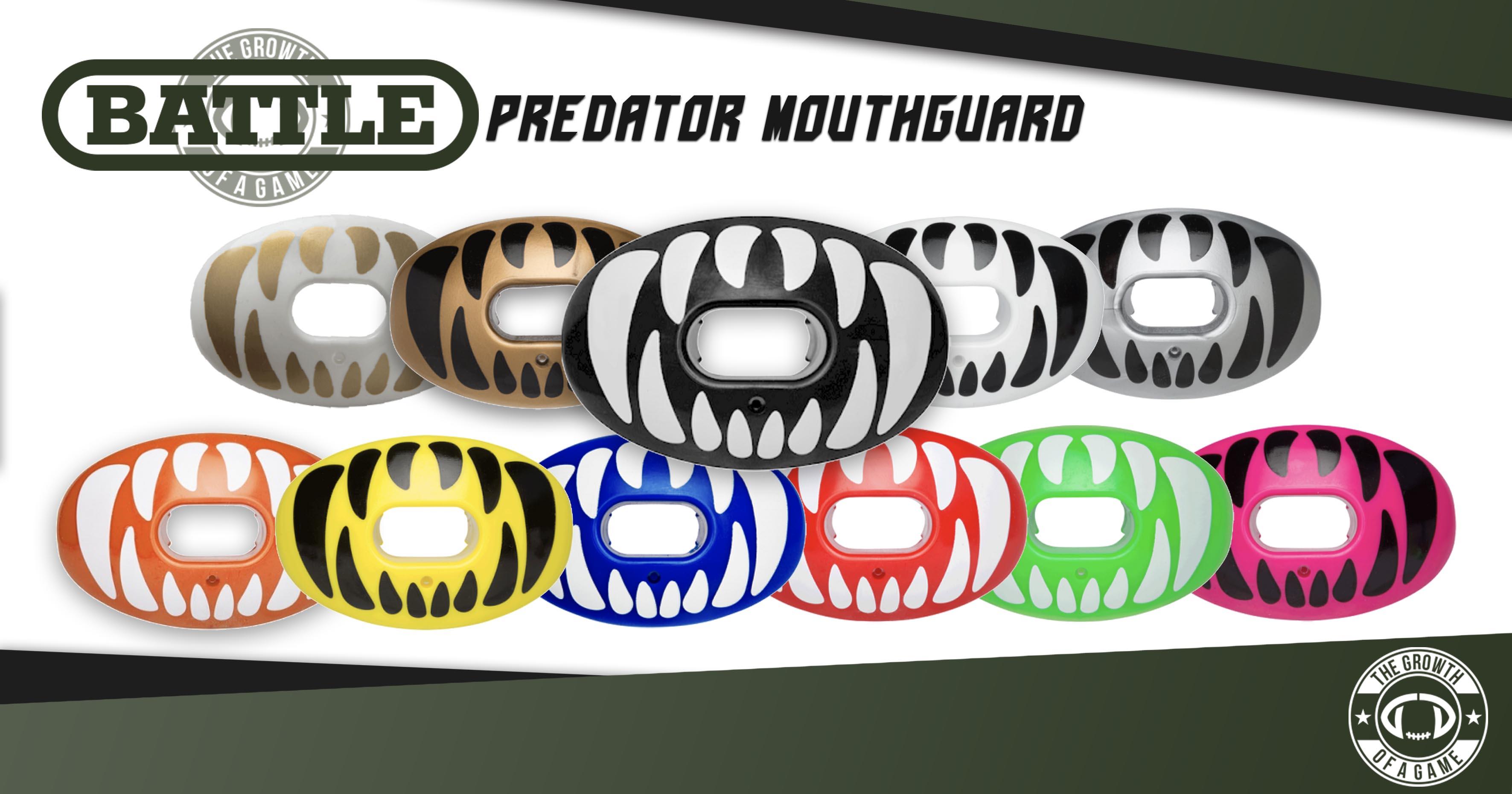 Battle Oxygen Predator Mouth Guard Graphic 1