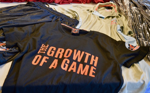 The Growth of a Game Shirt 1