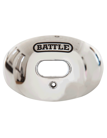 Battle Oxygen Chrome Mouth Guard Silver 1