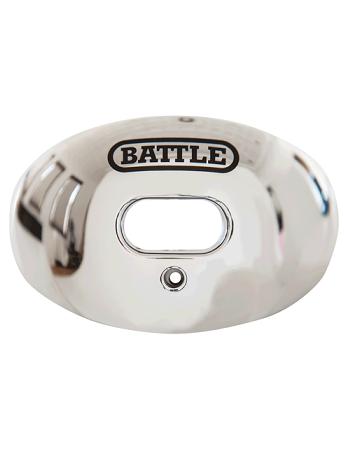 Battle Oxygen Chrome Mouth Guard Silver 1
