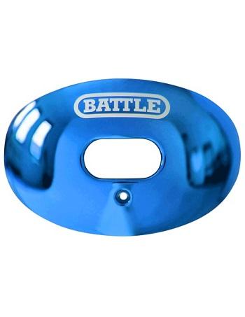 Battle Oxygen Chrome Mouth Guard Blue 1