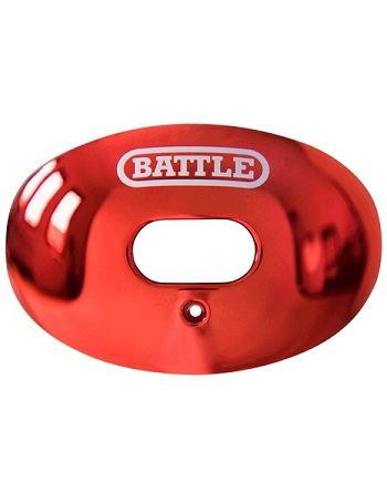 Battle Oxygen Chrome Mouth Guard Red 1