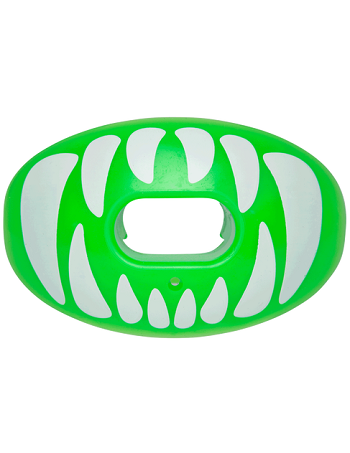 Battle Oxygen Predator Mouth Guard Green-White 1