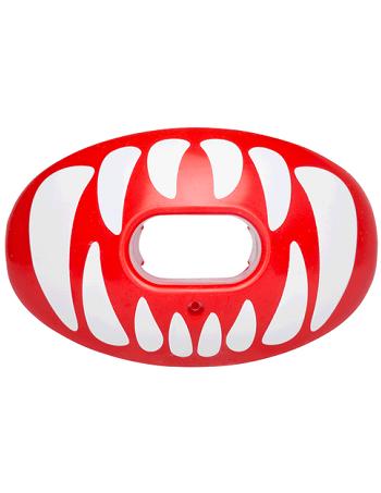 Battle Oxygen Predator Mouth Guard Red-White 1