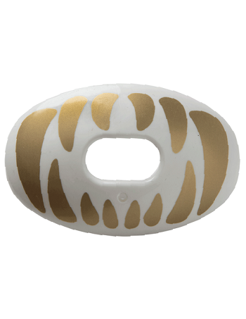 Battle Oxygen Predator Mouth Guard White-Gold 1