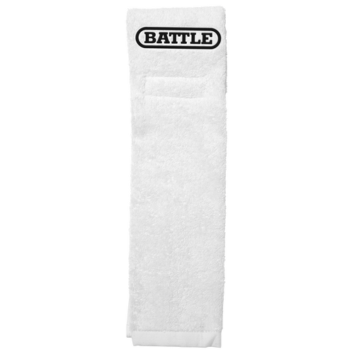Battle Football Towel White