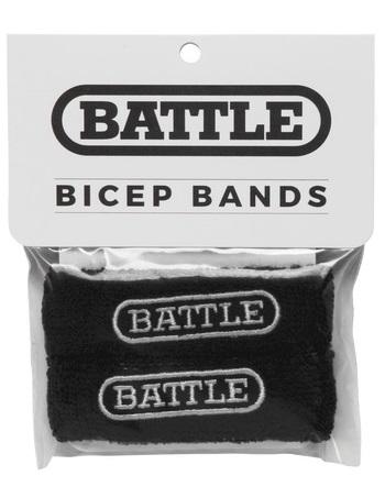 Battle Bicep Bands Black 1