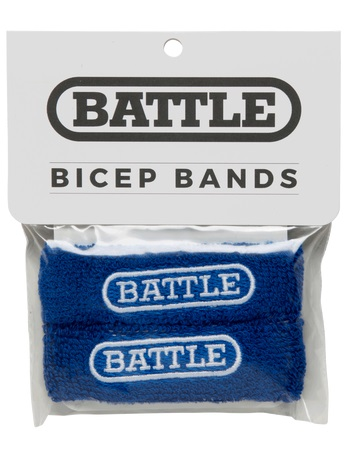 Battle Bicep Bands Blue 1