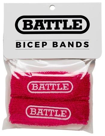 Battle Bicep Bands Pink 1