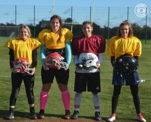 2018 European Women's American Football Camp Belgian Players