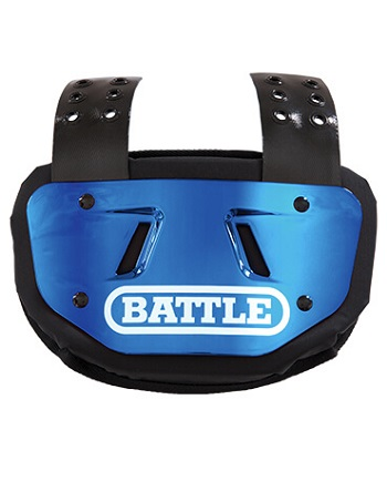Battle Chrome Back Plate Blue 1