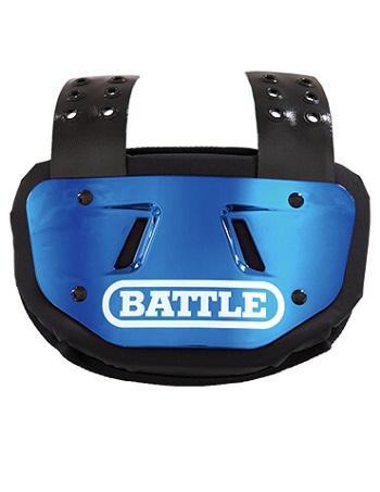 Battle Chrome Back Plate Blue 1
