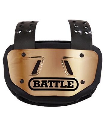Battle Chrome Back Plate Gold 1