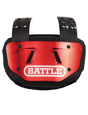 Battle Chrome Back Plate Red 1