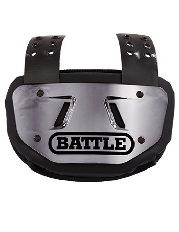 Battle Chrome Back Plate Silver 1