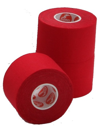 Cramer Athletic Tape - Individual Roll Red 1
