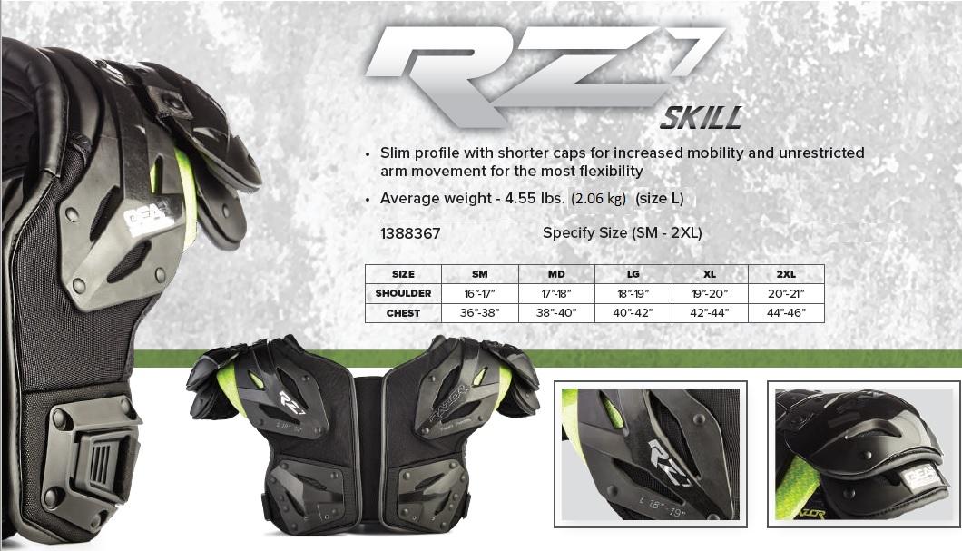 Razor RZ7 Shoulder Pad Description 1