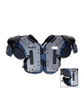 6886d7026d1 Riddell Phenom AP Shoulder Pad (All-Purpose)