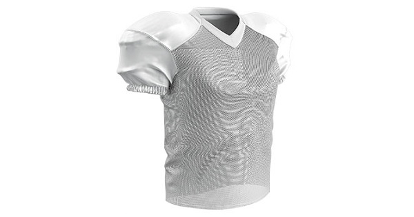 black football practice jersey