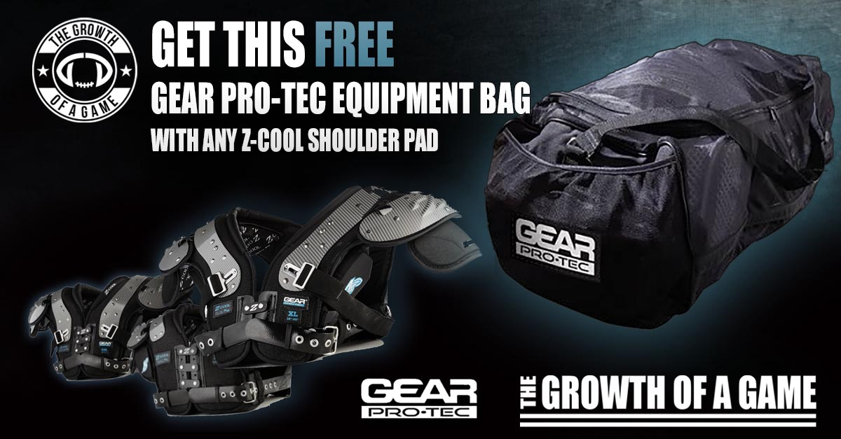 Gear Pro-Tec Z-Cool Shoulder Pad Offer Horizontal