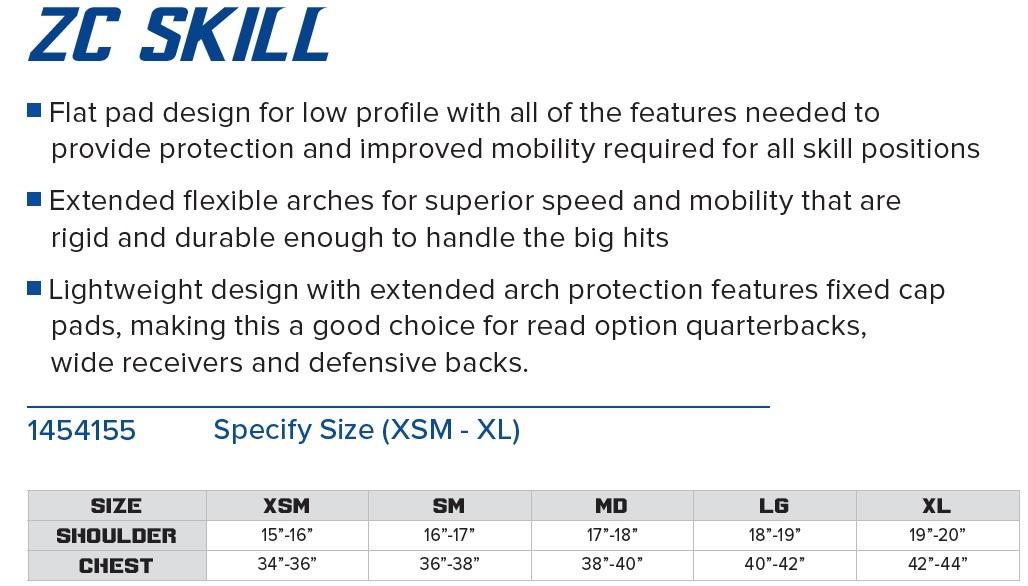 Gear Pro-Tec Z-Cool Shoulder Pad (Skill) Description 1