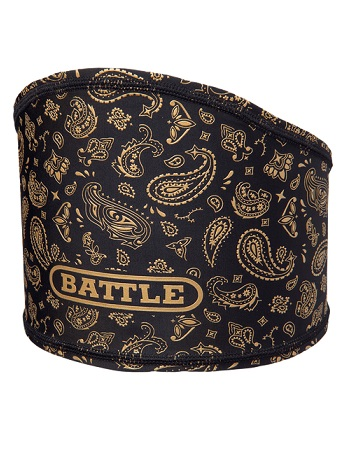 Battle Bandana Skull Wrap Black-Gold 1