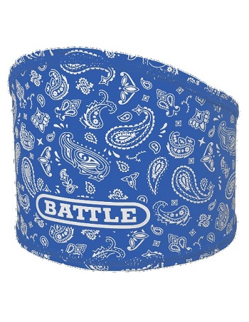 Battle Bandana Skull Wrap Blue-White 1