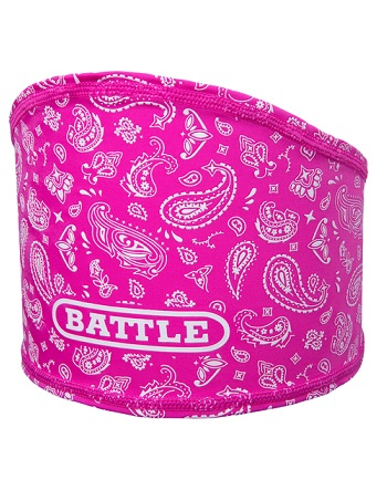 Battle Bandana Skull Wrap Pink-White 1