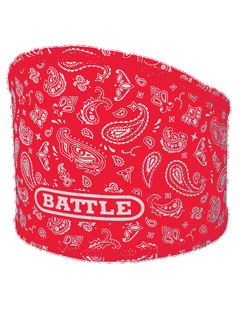 Battle Bandana Skull Wrap Red-White